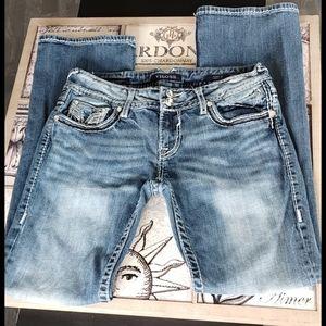 Vigoss The Chelsea Bootcut Med Wash Jeans